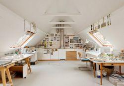 頂樓閣樓工作室設計設計圖