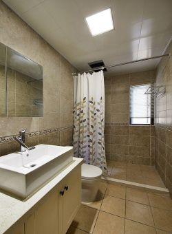 小户型室内卫生间瓷砖装修图片大全
