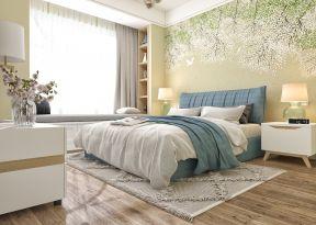 家庭主臥室 主臥室背景墻設計效果圖