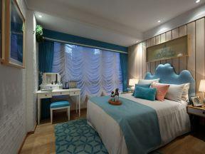 女生臥室布置 15平米臥室裝修效果圖片