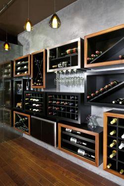 小户型现代风格酒柜创意设计图片