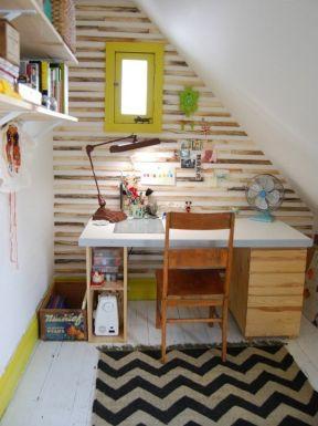 5平米小書房 書桌設計圖