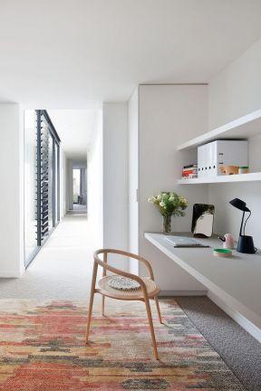 2017后现代风格小书房设计装修效果图