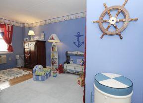 90平地中海風格 兒童房裝修效果圖