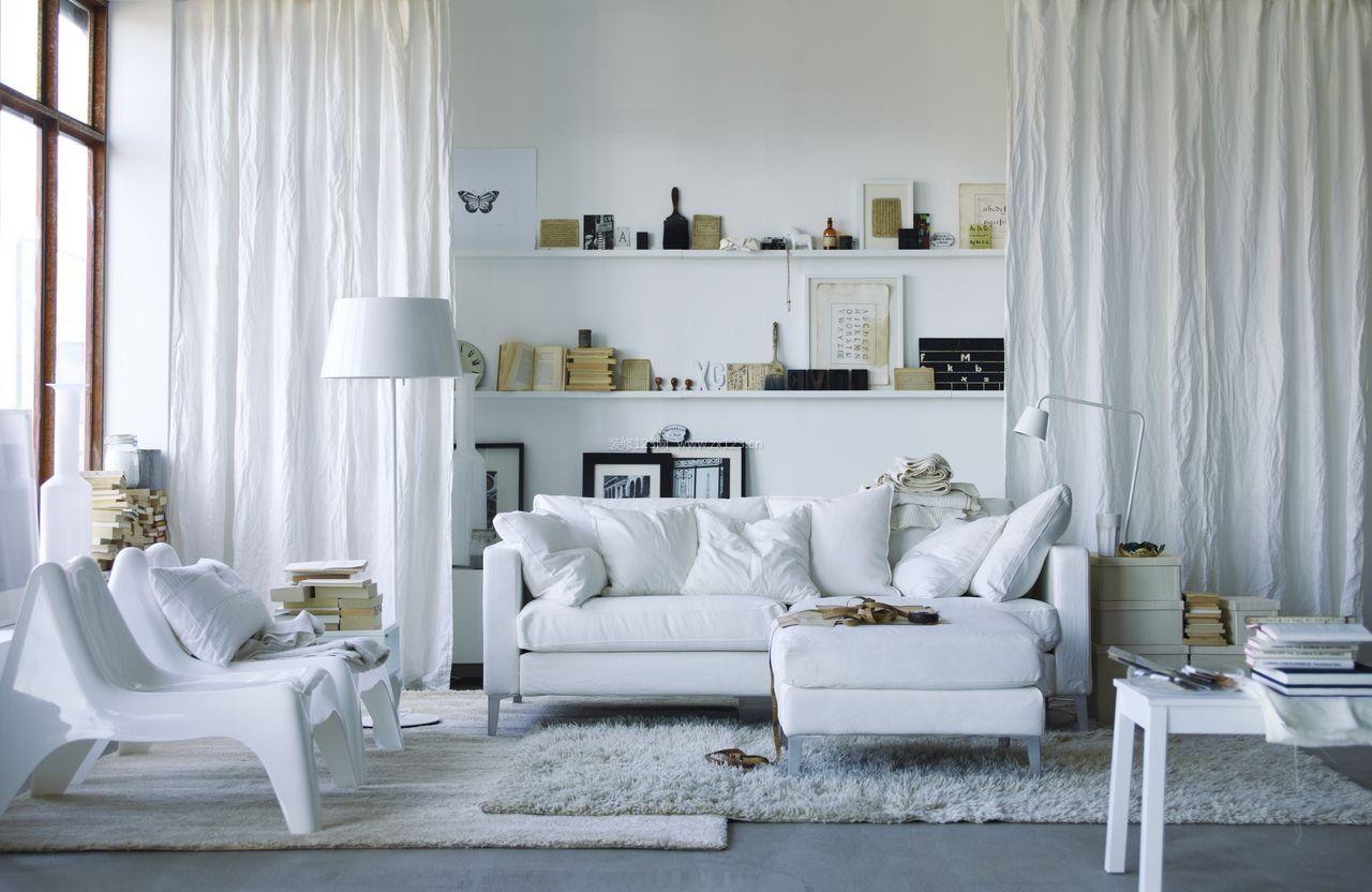 室内现代风格设计客厅家具图片_装修123效果图
