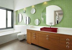 現代化新房衛生間墻磚設計