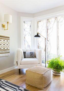 田园风格小户型客厅装修效果图片