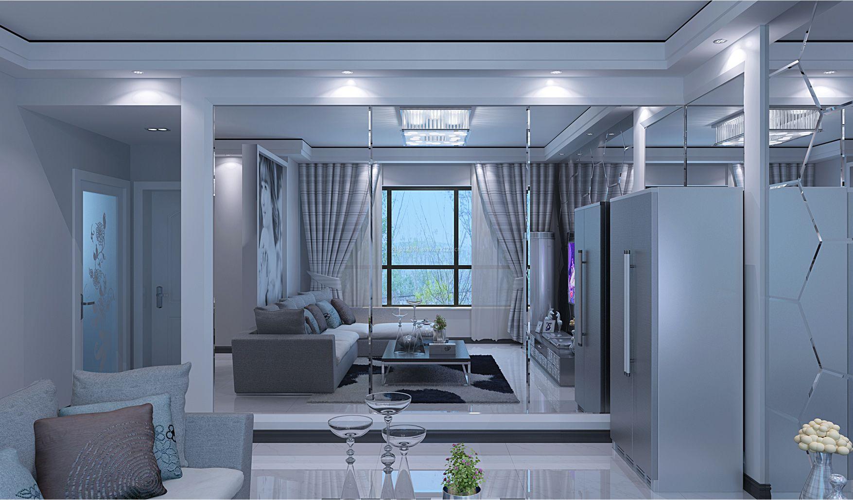 设计靓丽夺 120平米户型房屋室内装修效果图