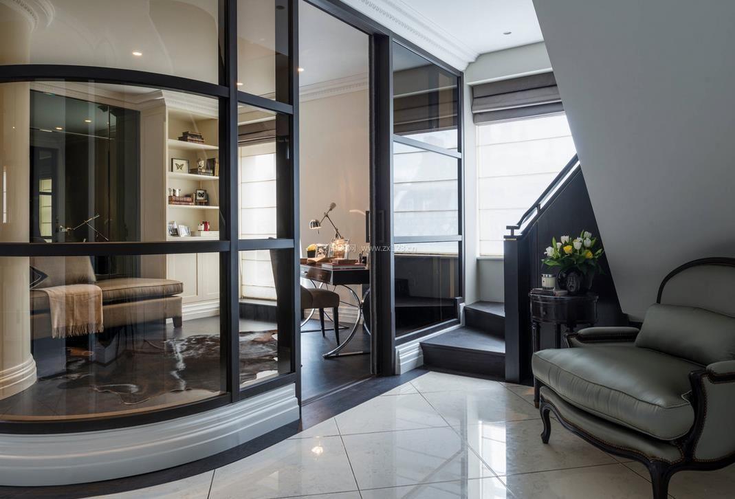 房屋厨房客厅玻璃隔断装修效果图集