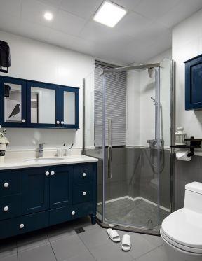 95平米三居室 衛生間浴室裝修圖