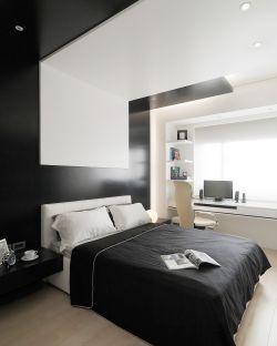 两居室田园风格15平米卧室装修效果图