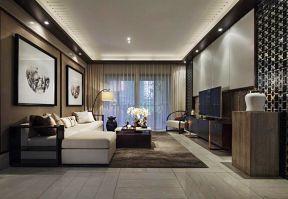 别墅现代中式 简约中式风格装修效果图片