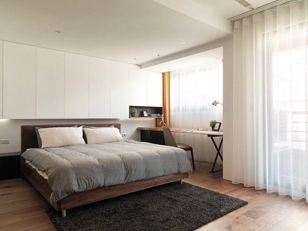 现代简约家装长方形卧室装修图片