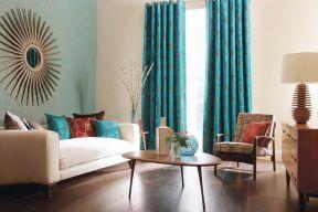 小戶型客廳裝飾設計 歐式窗簾
