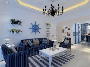 地中海家具風格 客廳地毯圖片