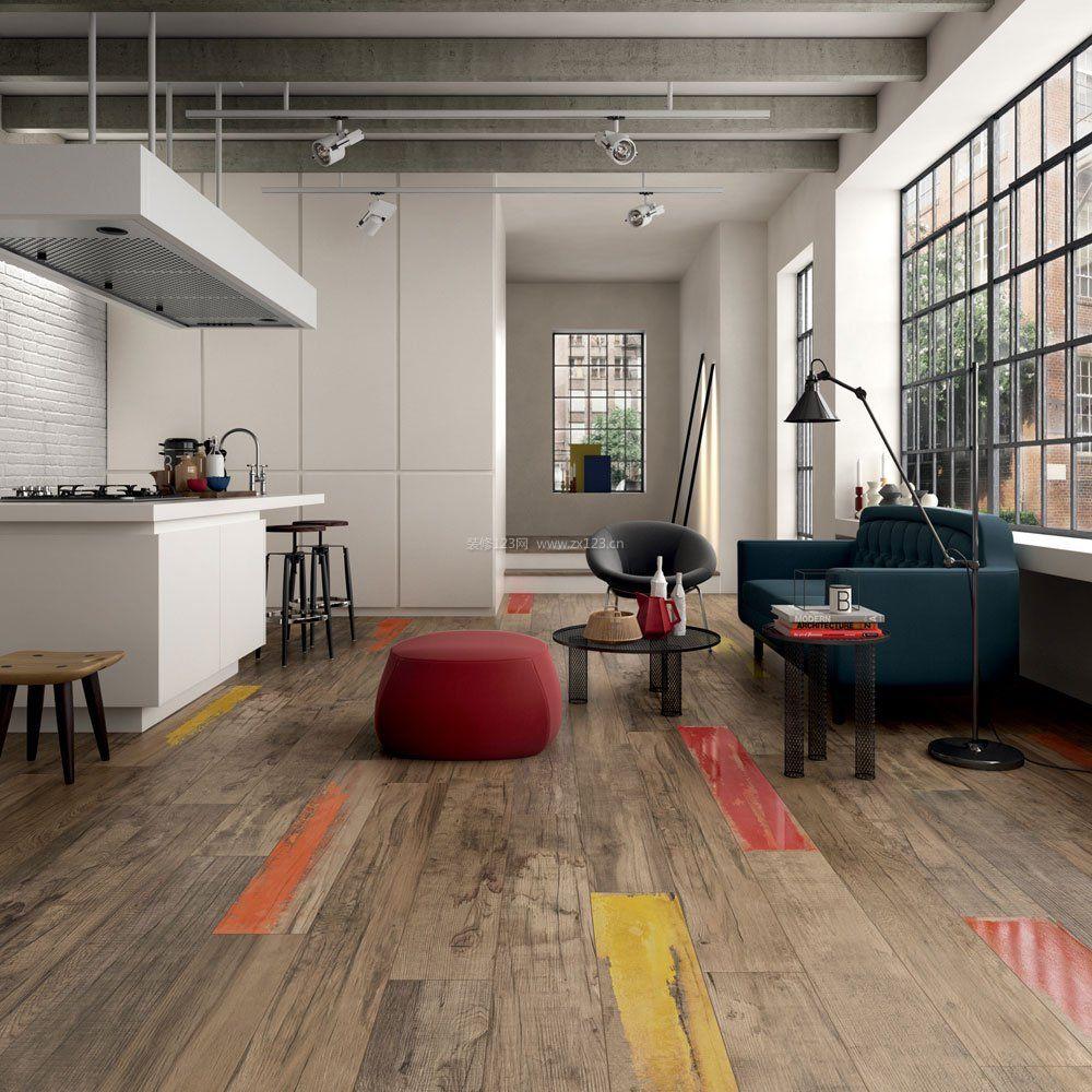 现代简约家具实木地板贴图