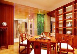 新中式風格中式茶室裝修效果圖大全