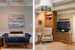 現代簡約風格房屋 實木家具圖片