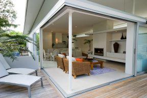 现代简约风格房屋 阳光房装修效果图片