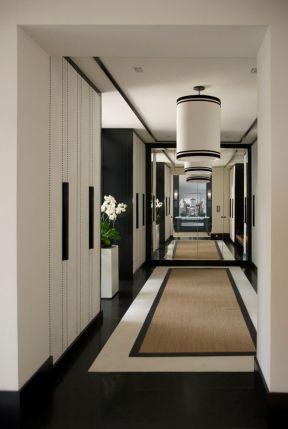 现代简约风格房屋 走廊装修效果图片