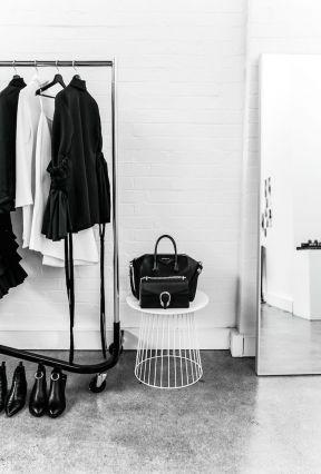 現代簡約家具 黑白現代風格