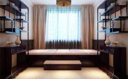 中式書房家具榻榻米設計