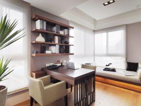 书房榻榻米设计 家庭书房装修