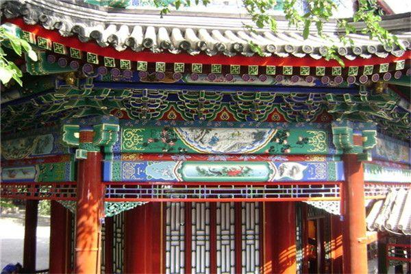 北京古建筑装修彩绘 彰显深厚历史文化