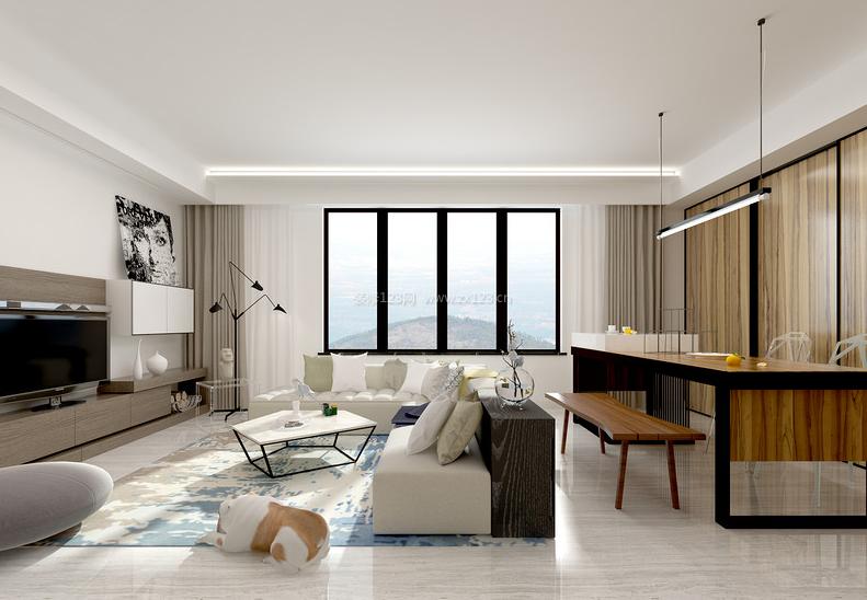 新房客厅装修效果图 房子装修设计图片图片