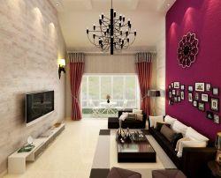 北歐設計風格躍層客廳燈具效果圖