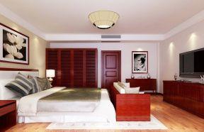 家装卧室衣柜 新中式风格卧室装修效果图