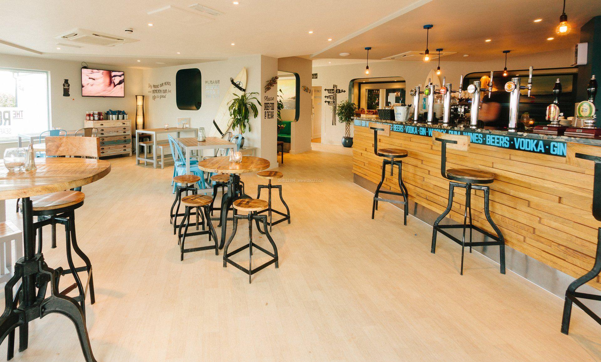 咖啡厅吧台设计图片大全