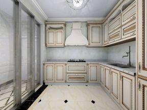 簡歐廚房裝修效果圖片 歐派整體櫥柜