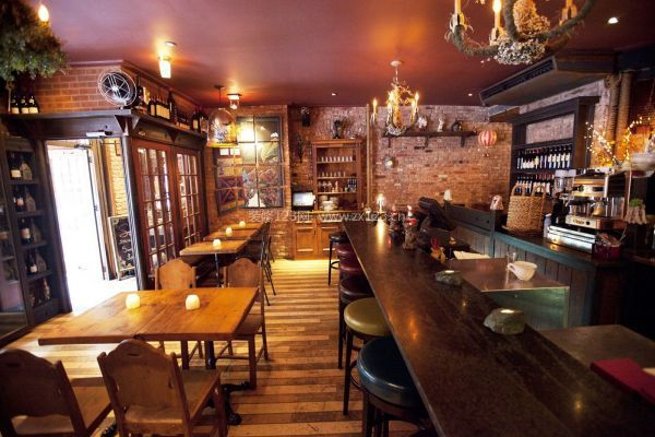 咖啡厅室内吧台装修设计技巧-武汉装修咖啡厅小技巧 咖啡厅装修小诀窍