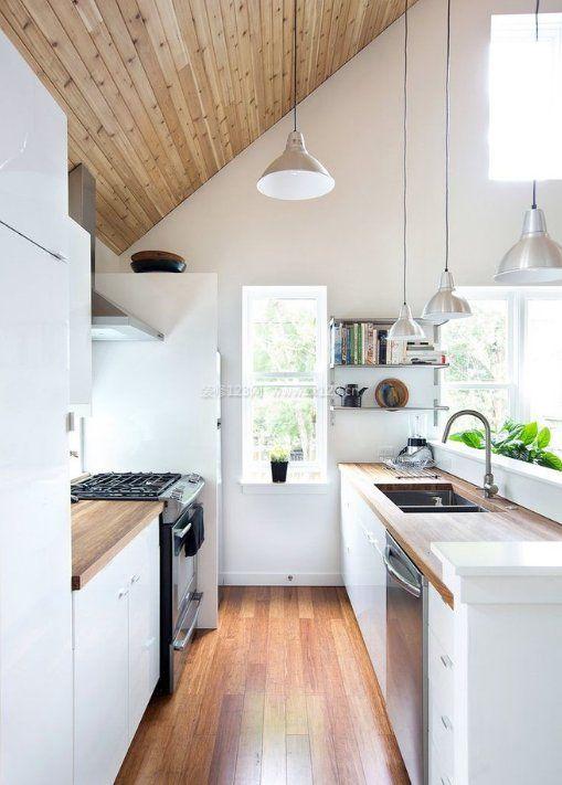 4米斜顶阁楼厨房装修图片