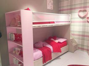 女生可愛臥室 高低床圖片