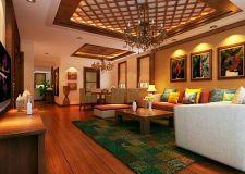 上海别墅设计装修 感受东南亚异域风情