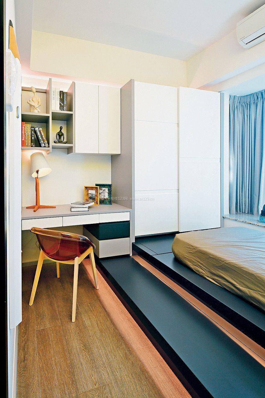 简约现代房屋小房间榻榻米装修图