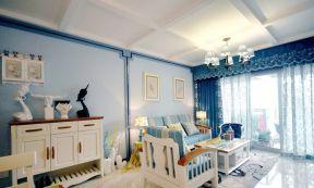 客廳陽臺裝修圖 地中海風格客廳