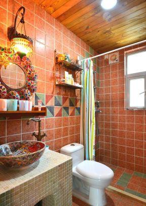 90平米三居室 衛生間浴室裝修圖