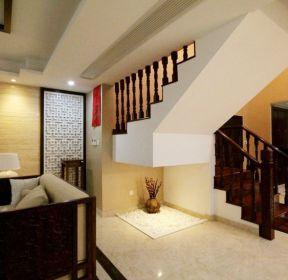 中式家居復式樓梯設計-每日推薦