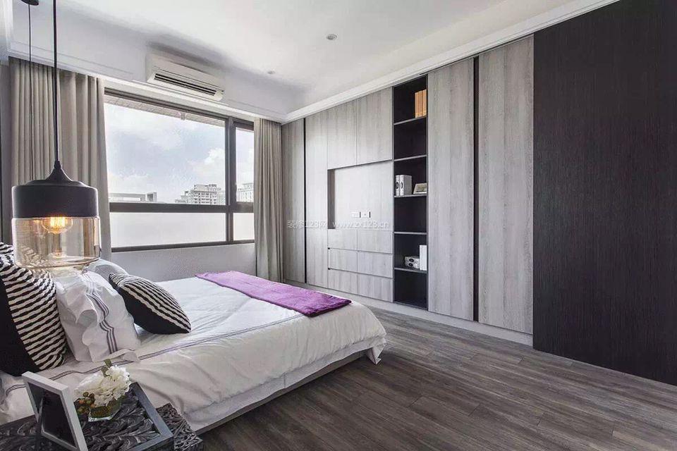 现代家居主卧室装修效果图大全2017图片