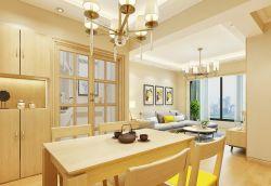 廚房與餐廳之間隔斷歐式門裝修效果圖片