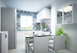 小廚房與餐廳之間隔斷裝修效果圖片