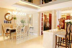 廚房與餐廳之間鏤空隔斷裝修效果圖