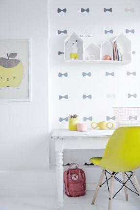 兒童書房書桌設計