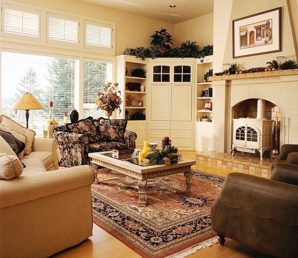 乡村风格美式沙发家装图片图片