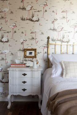 美式风格家装墙纸装修效果图