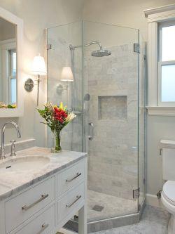 小面积卫生间整体淋浴房装修效果图片