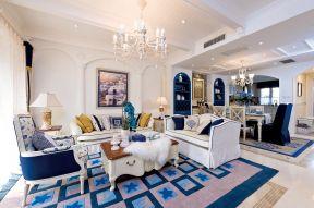 110平米房子装修图片 地中海风格装修效果图片